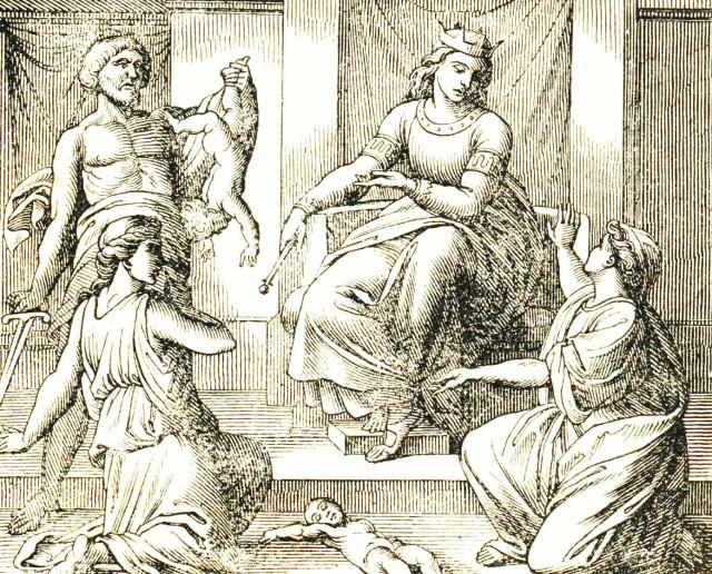 36- Salomone e il figlio conteso