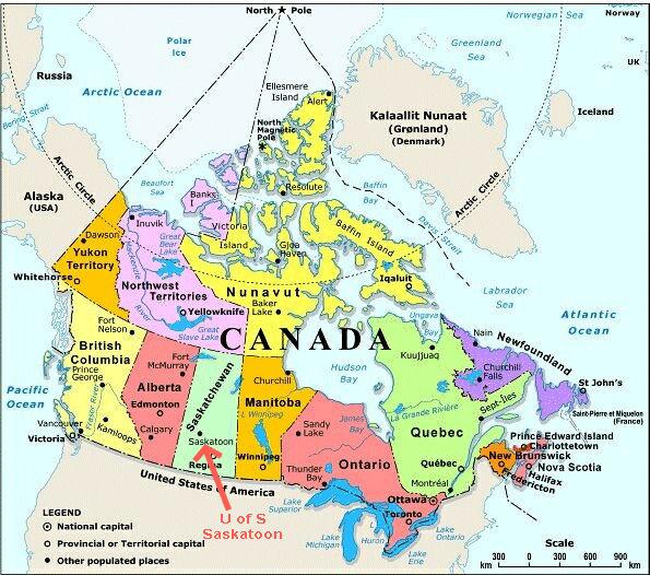 cartina geografica del canada_0