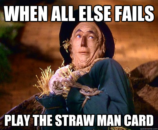 straw man argument