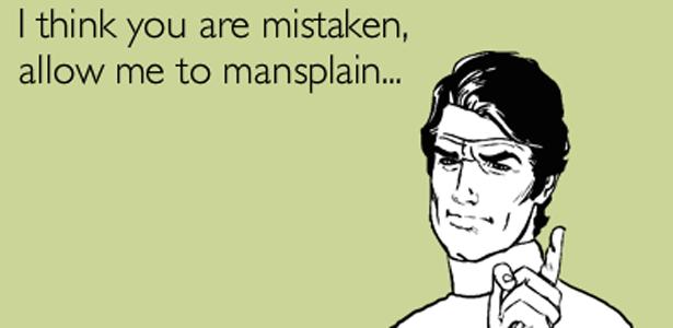 mansplain