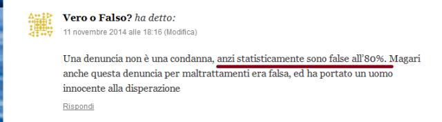 statisticamente